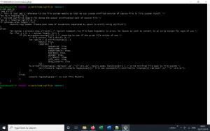 Uglify JS Application Screenshot